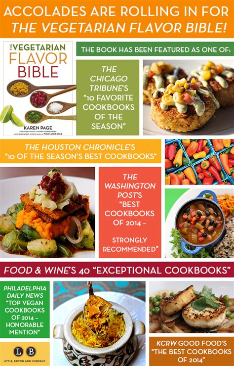 the vegetarian flavor bible recipes brown celebrates the vegetarian flavor bible s