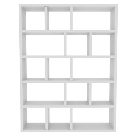etagere 150 cm temahome berlin 5 level modern 59 quot white bkc eurway