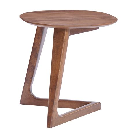 Modern Accent Table Zuo Modern Park West Side Table Modern End Tables