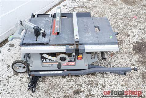 Craftsman 10 Portable Table Saw by Craftsman 10 Inch Portable Table Saw Model 315 218060 9549 1 Ebay