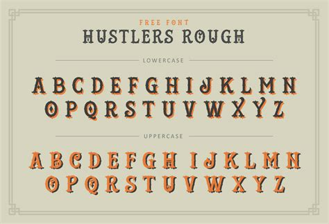 tattoo parlor font exclusive free font hustlers rough inspired by the 1800 s