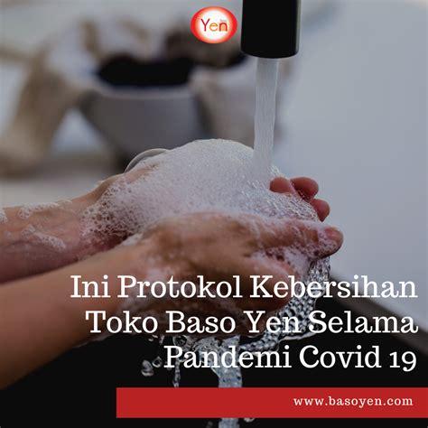 protokol kebersihan toko baso yen selama pandemi covid