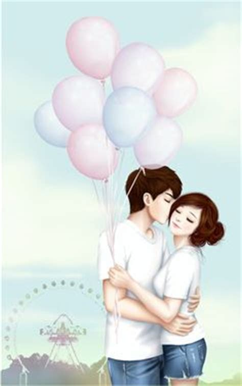 wallpaper cute couple korean korean couple cartoon google search cute pinterest