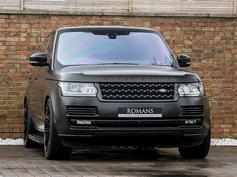 wrapped range rover autobiography 2017 used land rover range rover v8 sv autobiography
