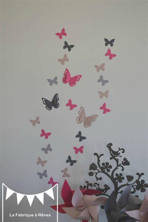 Stickers Deco Chambre Fille by Deco Chambre Bebe Fille Papillon