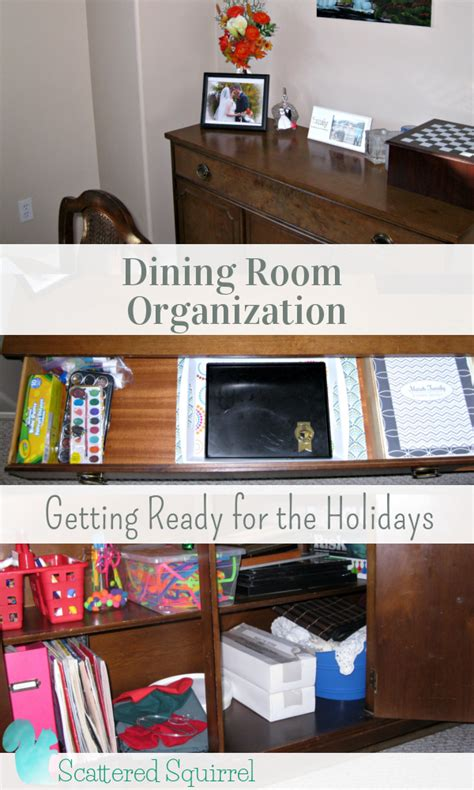 Dining Room Organization by Dining Room Organization Scattered Squirrel