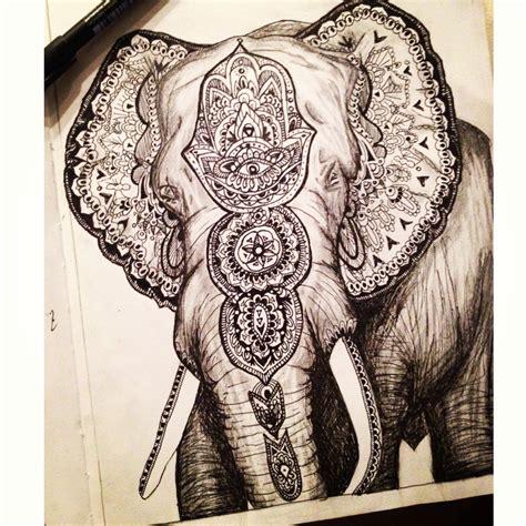 mandala elephant tattoo elephant mandala elephants