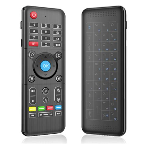 Keyboardmouse Prolink Anti Air h1 2 4ghz 6 axis air mouse backlight touchpad keyboard