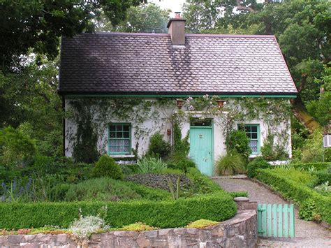 a cottage cottage this is the gardeners cottage at glenveagh