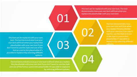 powerpoint design apply to all slides free modern hexagon list and agenda powerpoint template