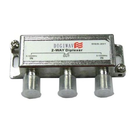 digiwave 2 in 1 out diplexer for offair antenna dgs201