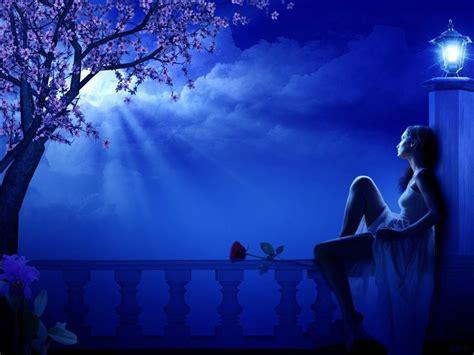 imagenes mujeres romanticas 161 una mujer mirando la luna no es una lun 225 tica es una