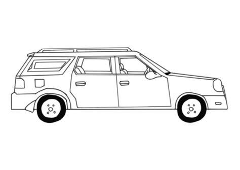 kleurplaat auto afb  images