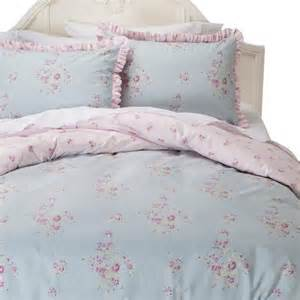 Simply shabby chic 174 faded paper rose duvet cover set product details