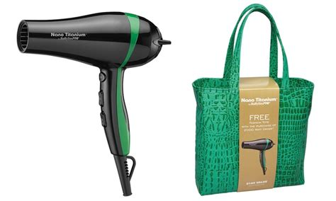 Hair Dryer Carry On Baggage babyliss pro titanium hair dryer groupon goods