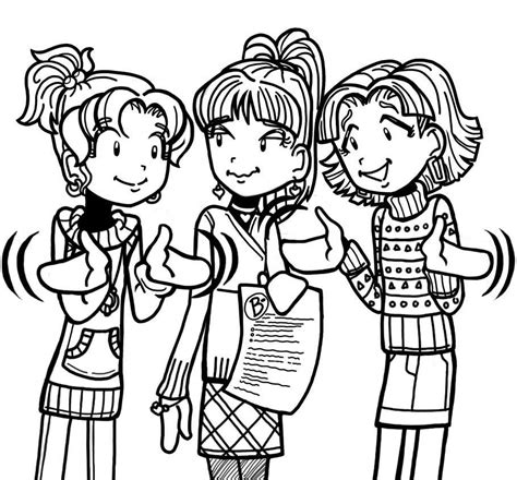 dork diaries coloring pages the b that totally freaked out dork diaries