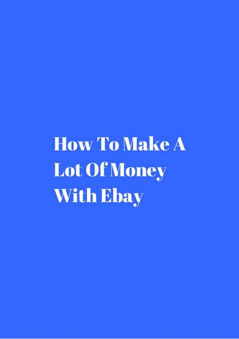 How To Make A Lot Of Money On Gta Online - how to make a lot of money with ebay
