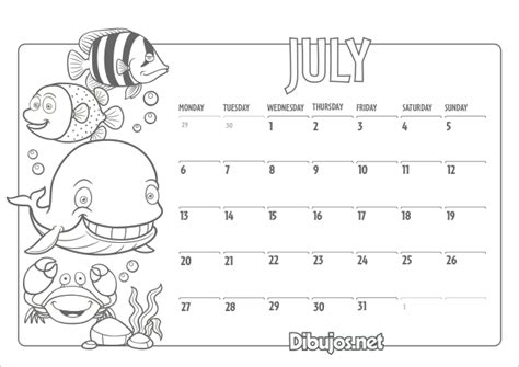 Free Coloring Pages Of Full 2015 Calendar Calendar Coloring Page