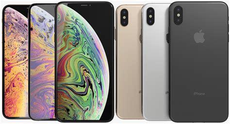 model realistic apple iphone xs turbosquid