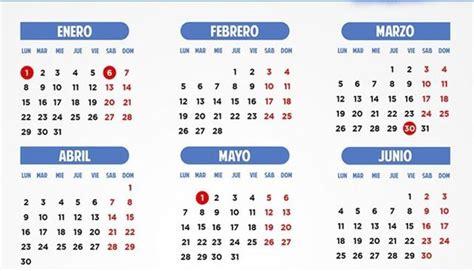Calendario 2018 Laboral España Los Trabajadores De Cinco Autonom 237 As Tendr 225 N Que Recuperar