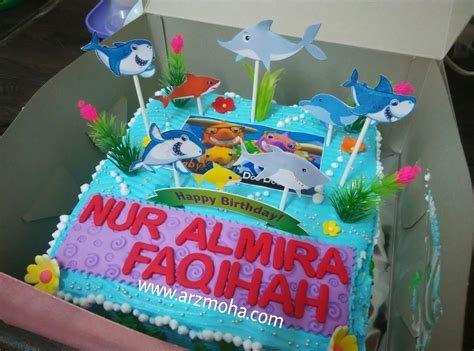 Setelan Anak Sgw12 K Ariel koleksi gambar baby shark bilik wallpaper