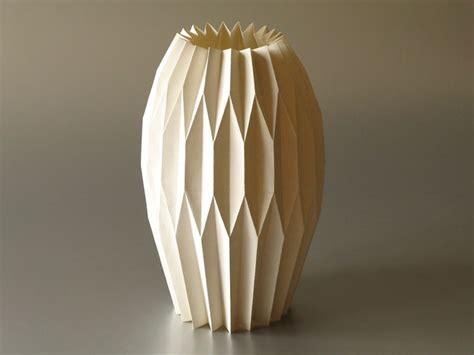 Origami Paper Vase - origami vase paper