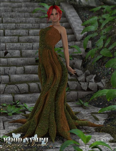 S Rw rw wood nymph for genesis 2 s 3d models and 3d