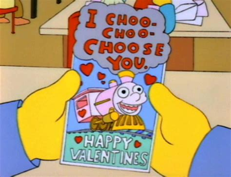 simpsons valentines card best episode of the simpsons i trope and
