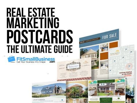 custimazable templates for post cards real estate how to use real estate postcards to market your business