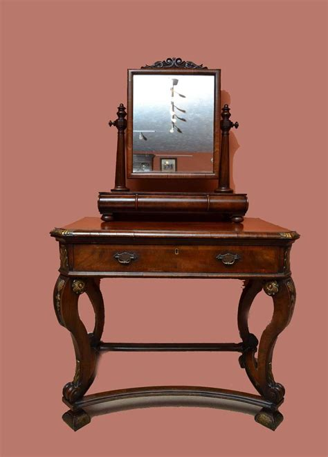 Antique Vanity Table With Mirror by Antique Mahogany Dressing Table Mirror Circa