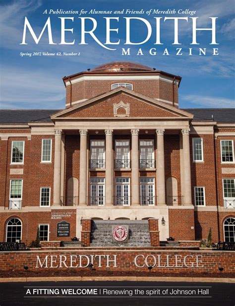 Meredith College Mba by Meredith College Magazine 2017 By Meredith College