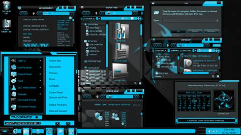 visual themes for windows 8 1 windows 8 1 theme xux ek blue by newthemes on deviantart