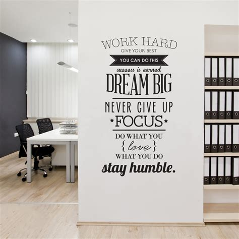wall sticker store aliexpress buy work inspiring vinyl wall