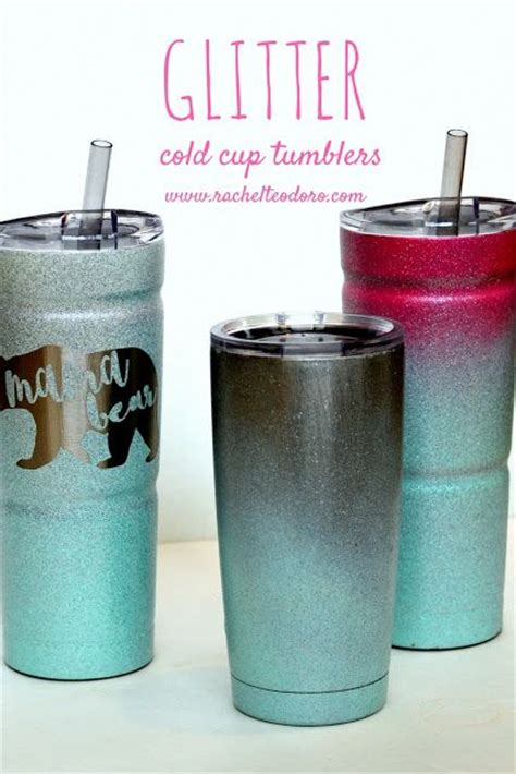 spray paint yeti cup ombre spray painted glitter cold cup gifts ombre and