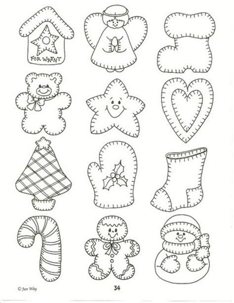 moldes para imprimir de navidad moldes y dibujos de navidad para manualidades ii