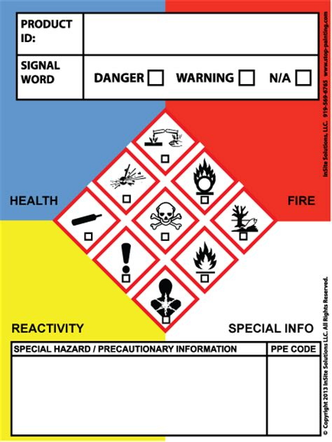 printable osha stickers image gallery osha labels