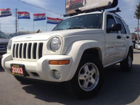 2003 jeep liberty limited jeep liberty fuel mileage release date price and specs