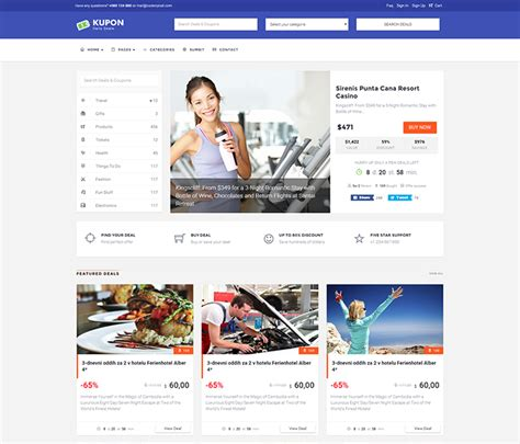 deal review template kupon theme review one of the best coupon themes