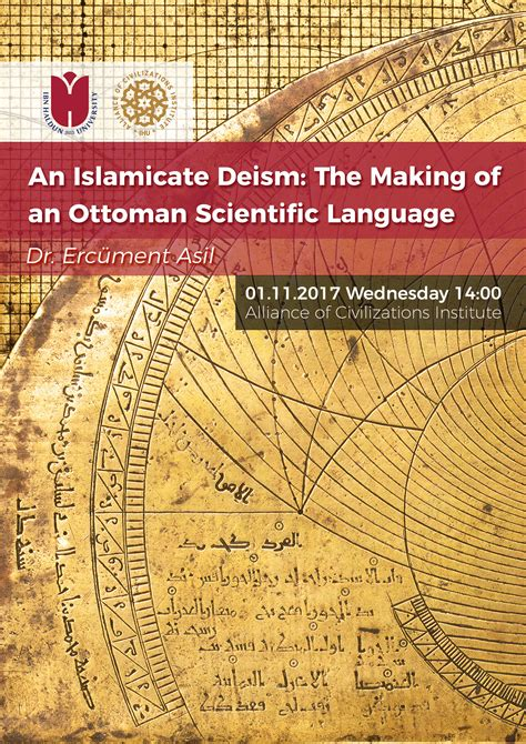 ottoman science an islamicate deism the making of an ottoman scientific