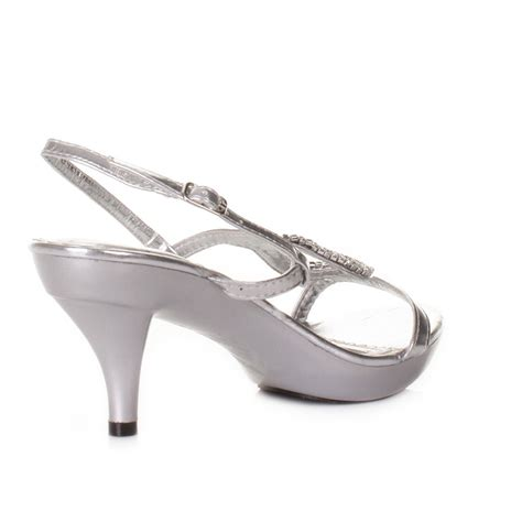 silver sandals for wedding low heel low heel silver strappy slingback prom wedding shoes