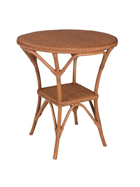 Rattan Bistro Table Bistro Wicker Dining Table Base Cottage Home 174