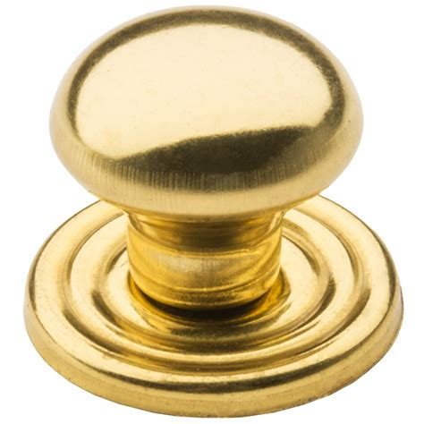 brass cabinet knob backplate valsan brass cabinet knob and backplate 1 quot 6339a