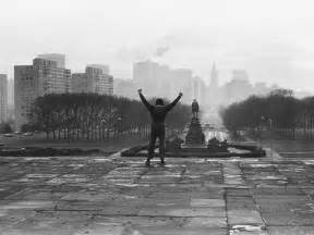 Rocky Movie Stairs by Philly Tourists Run Up Rocky Steps And Run Into Sylvester