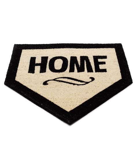 Baseball Doormat home plate doormat mat baseball sports uncommongoods