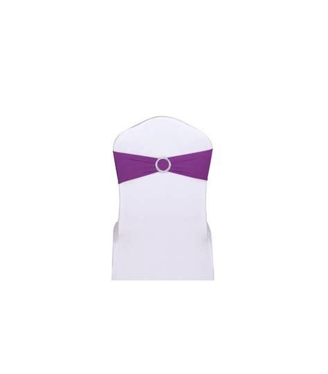 noeud de chaise violet noeud de chaise violet stretch avec boucle strass 5pcs