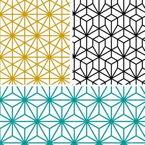 hexagonal pattern stock vector geometric hexagon pattern in tree style stock vector