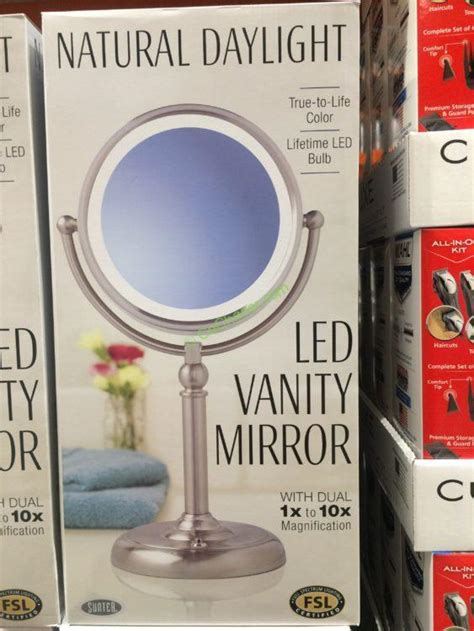 lighted makeup mirror costco costco vanity mirror led mirror designs