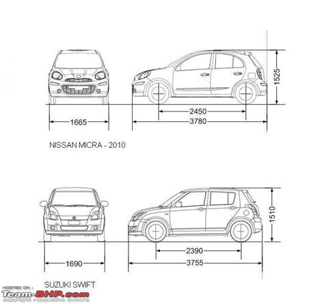 3 Car Garage Dimensions by Unveiled Nissan Micra The Brand S Small Car For India