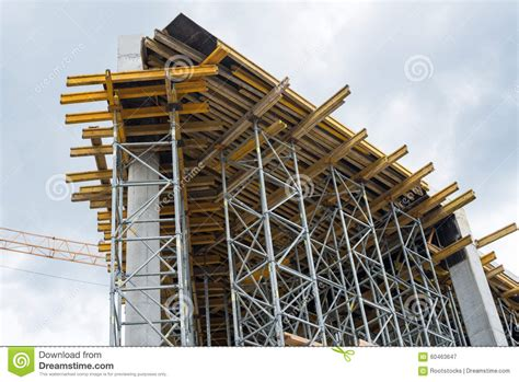new house construction building stock photo image 63233514 construction site framework of the new building stock