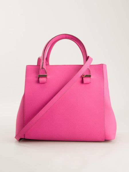 Tas Beckham Quincy Tote Bag beckham quincy tote bag in pink pink purple lyst